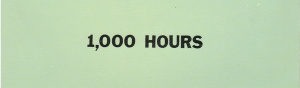 1,000 Hours