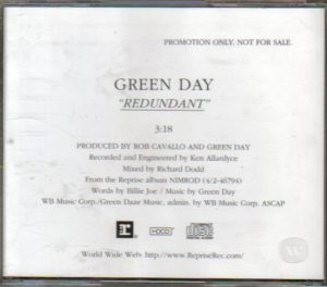 redundant usa promo cd