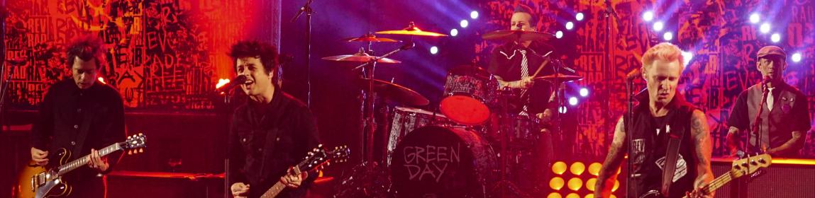 Green Day gościem The Late Show